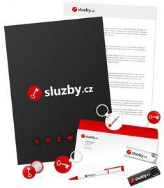 www.sluzby.cz Identity, Web Design, Digital, Movie Posters, Design Web, Film Poster, Popcorn Posters, Film Posters, Personal Identity