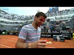 There's nowt better than watching someone get a cake to the face...  Grigor 'Cake Face' Dimitrov is on court later today against Rafael Nadal in the ATP Rome semi-final. Read our preview here - http://betting.stanjames.com/blog/tennis/atp-rome-semi-finals-2014-05-17