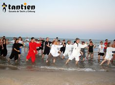Escuela Tantien - Verano 2015 - Playa Malvarrosa - Valencia