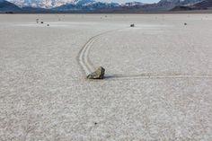 Sailing Stones, Racetrack Playa, Death Valley, CA