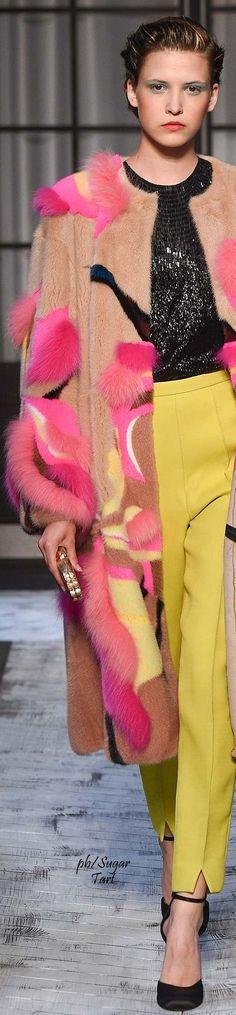 Schiaparelli Fall 2015 Couture | House of Beccaria~