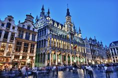 Brussels, Belgium – Grand Place (HDR) - Talke Photography  #Brussels #GrandPlace #Belgium
