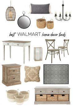 Best Walmart Home Decor Finds - Diy Decoration Stylish Home Decor, Affordable Home Decor, Cheap Home Decor, Home Decor Items, Home Decor Accessories, Diy Home Decor, Home Goods Decor, Affordable Furniture, Decorative Accessories
