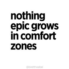 #breakupwithyourcomfortzone  Send this to someone who inspires you to step outside of your comfort zone.