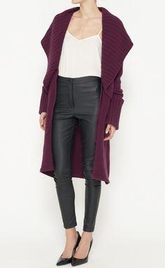 Temperley London Plum Sweater | LOVE IT