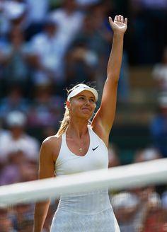 Maria Sharapova Photos - Day Five: The Championships - Wimbledon 2015 - Zimbio