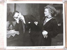 Nancy Carroll and Fredric March original photo 1931 Night Angel in Entertainment Memorabilia, Movie Memorabilia, Photographs   eBay