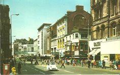 Church Street, Liverpool. Love that car!