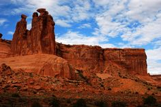 The Gossips from Courthouse Towers, Arches National Park, with East-West Global Tours