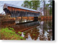 My husband and I went on a road trip for Mother's Day. He was planning a Boy Scout canoe trip while I was busy taking photographs. I will say, that this is the most picturesque covered bridge that I have seen in Maine. The Hemlock Covered Bridge is definitely off the beaten path without any modern distractions. I highly recommend finding it when you are in Maine.