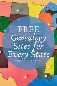 We've compiled a list of digital state-level genealogy resources from across the country. For each state, and the District of Columbia, we've highlighted two of the best online research sites available – 102 in all. Free Genealogy Sites, Genealogy Research, Family Genealogy, Ancestor Search, Genealogy Organization, Hans Peter, Family Research, Dementia, Family History