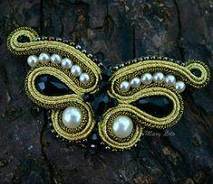 Diy Jewelry, Brooch, Crown, Fashion, Embroidery, Moda, Corona, Fashion Styles, Handmade Jewelry