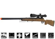 Airsoft Sniper, Airsoft Guns, Remote Control Boat, Muzzle Velocity, Metal Barrel, Air Rifle, Weapon Concept Art, Paintball, Tactical Gear