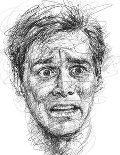Pencil Drawing Tutorials Jim Carrey Fan Art - Artist Vince Low pays homage to funny Jim Carrey faces in his series of portraits. Aside from the two being talented in the arts, they share another trait. Funny Face Drawings, Realistic Pencil Drawings, Pencil Drawing Tutorials, Ink Pen Drawings, Funny Faces, Jim Carrey, Pencil Portrait, Portrait Art, Drawing Portraits