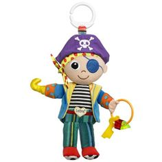 Lamaze Yo Ho Horace Lamaze Yo Ho Horace wants your baby to learn his pirate ways. From his skull-and-crossbones hat down to his spotty feet, there are colours and textures aplenty on board. Turn Horace over - and over ag http://www.MightGet.com/february-2017-3/lamaze-yo-ho-horace.asp