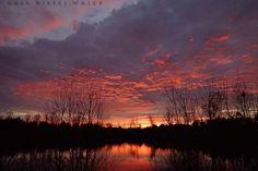 Outer Banks NC Local Artists Facebook post:  12/28/14 Sunrise.  Photographer credit: Greg Diesel Landscape Photography.