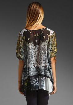 CLOVER CANYON Ombre Paisley Top in Multi at Revolve Clothing - Free Shipping!