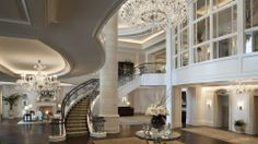 Luxury Staircases | lovely staircase | Castles & Luxury Homes | Pinterest