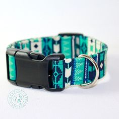 Hey, I found this really awesome Etsy listing at https://www.etsy.com/listing/473595368/tribal-dog-collar-blue-dog-collar-teal
