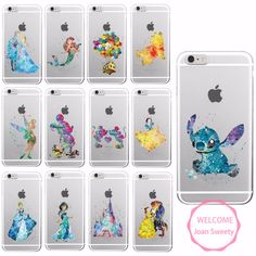 Aliexpress.com : Buy Watercolor Tinkerbell Mickey Minne Stitch Mermaid Princess  Lion King Poof Bear Monsters University Soft Phone Case For Samsung from Reliable phone case opener suppliers on World Design Phone Accessories