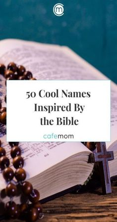 50 Cool Baby Names Inspired By the Bible - Perfect Baby Names - Ideas of Perfect Baby Names - When I first learned I was pregnant one of the most exciting things was coming up with the perfect baby name. Bible Baby Names, Hebrew Baby Names, Irish Baby Names, Cute Baby Names, Unisex Baby Names, Irish First Names, Alternative Names For Grandma, Simple Girl Names, Twin Names