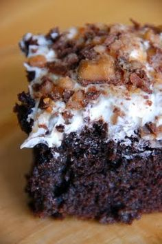 Better Than *** Cake | OK, it's not really, but if you need a chocolate fix this is it! I know that this is a pretty well known recipe and that there are many versions, but this is my favorite one