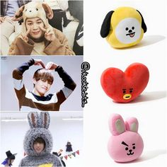 "29.2k Likes, 386 Comments - T A E K O O K 태 꾹 CouPle (@vkookie.bts_) on Instagram: ""[171125]CHIMMY,TATA,COOKY,❤,which would you buy? #bt21 [⚠don't forget vote BTS on…"""