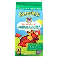 Annie's Homegrown Bernie's Farm Animal Cookies 5.5 oz