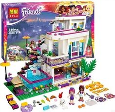 Stylish House Building Set:  Price: $34.99 & FREE Worldwide Shipping.  Visit us and see our 300+ catalog.  We sell toys, materials and costumes with a learning purpose.  Your kids will thank you later!