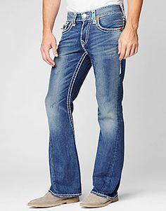 Men's Ricky Super T - Cowboy Destroyed | True Religion Brand Jeans ...