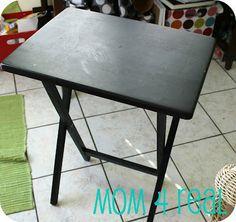 Decoupage mesa {tutorial}