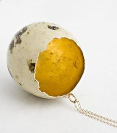 . coat the inside of an egg with resin? epoxy? mod podge? .