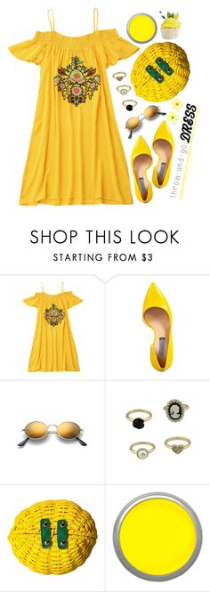 """""""Easy Dress"""" by simona-altobelli ❤ liked on Polyvore featuring INC International Concepts and Betsey Johnson"""