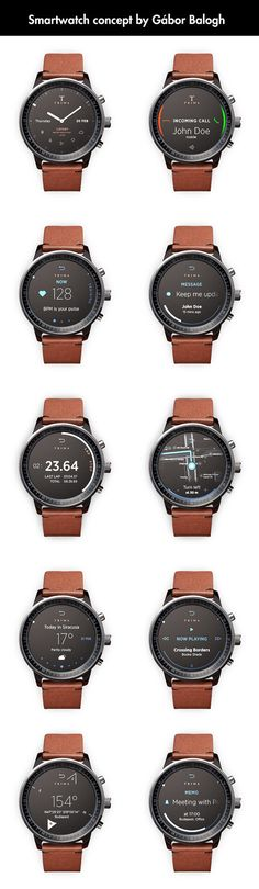 One Of The Best Smartwatch Concepts Around  - funny pictures #funnypictures