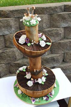 Like the mushroom idea- not for cake , maybe cupcakes
