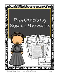 Sophie Germain Research Informative Writing, Informational Writing, Texas Teks, 5th Grade Writing, Texas Teacher, Teaching Strategies, Common Core Standards, 5th Grades, Research
