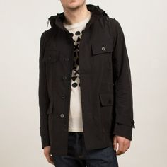 Field Jacket: I really like cotton spring jackets and this one is a particularly nice one.
