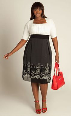 Hayleigh Dress - Plus Size Clothing Canada