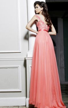 Prom Dresses Online Shop, Buy Graceful A-line Dress Wtih Applique And Beads in Musesdress.co.uk