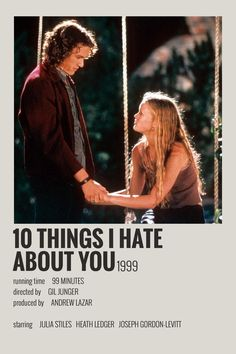 Alternative Minimalist Movie/Show Poster - 10 things i hate about you - 5016 Wallpaper Iconic Movie Posters, Minimal Movie Posters, Movie Poster Art, Iconic Movies, Poster Wall, Film Posters, Vintage Movie Posters, Poster Series, Music Posters