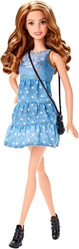 Just like real girls Barbie doll and her friends each have a different look personality and sense of style -- but that doesn't stop them from always having a blast together and looking fab while doi...