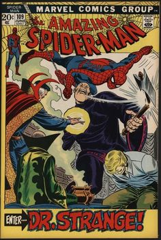 AMAZING SPIDER-MAN #109 LOVELY HI-GRADE NM- CENTS COPY WITH WHITE PAGES
