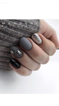 Want some ideas for wedding nail polish designs? This article is a collection of our favorite nail polish designs for your special day. Perfect Nails, Gorgeous Nails, Nail Polish Designs, Nail Art Designs, Nails Design, Cute Nails, Pretty Nails, Wedding Nail Polish, Gray Nails