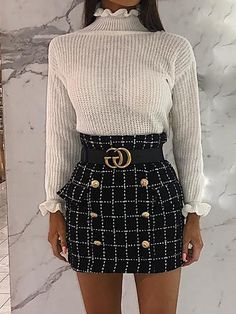 Women's Clothing Sincere Marks And Spencer Office/casual Navy Skirt Size 16