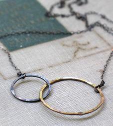 Interlocked Circles Necklace