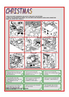 match short paragraph to picture: Auditory Processing / Comprehension / Reading