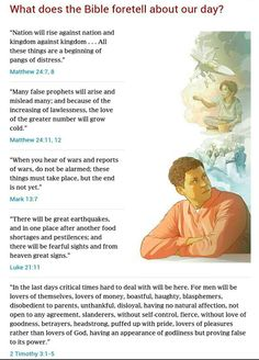 The present and future is all foretold in the Bible. Online Bible Research Tool: JW.ORG