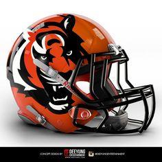 NFL Concept Helmets by Imgur   Cincinnati Bengals