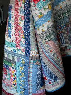 DSCN4551 | Flickr - Photo Sharing! I love log cabin quilts of all kinds.