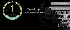 1 year anniversary BD Script Kiddie Hackers BSKH
